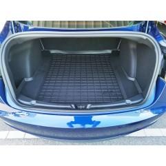 Tapis Coffre de coffre arrière 3D TPE pour Tesla Model 3