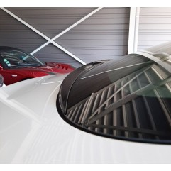 Aileron de rétention d'eau noir brillant ou aspect carbone brillant pour Tesla Model 3
